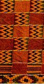 section of kente cloth